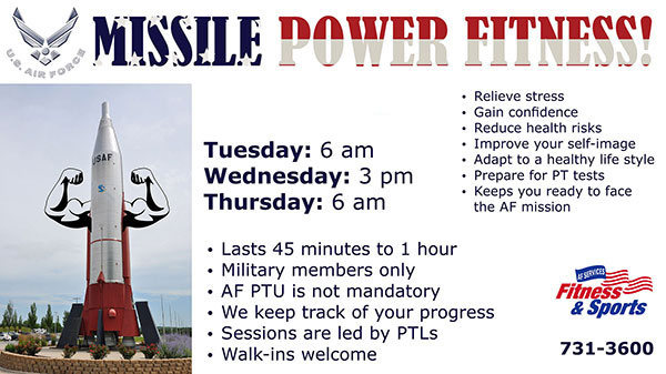 Missile Power Fitness!