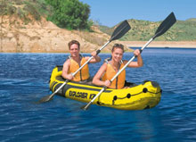 Inflatable Kayaking