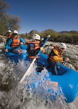 Whitewater Rafting at the Alberton Gorge