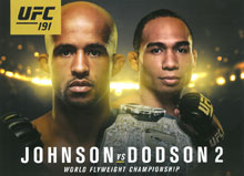 UFC Fight 191: Johnson vs Dodson